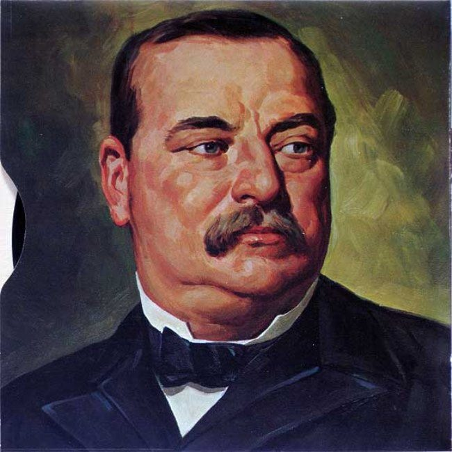 24th president of America Grover Cleveland