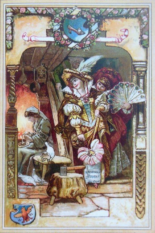 Cinderella. Illustration by Johnny Gruelle