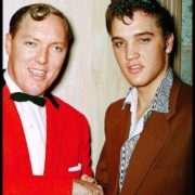 Elvis Presley and Bill Haley