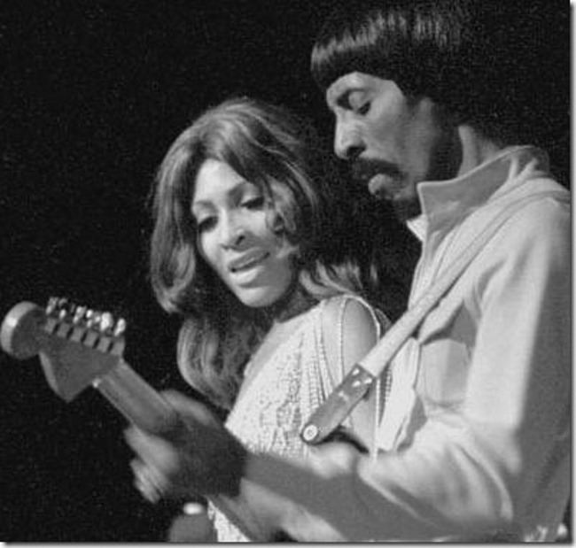 Gorgeous Tina and Ike Turner