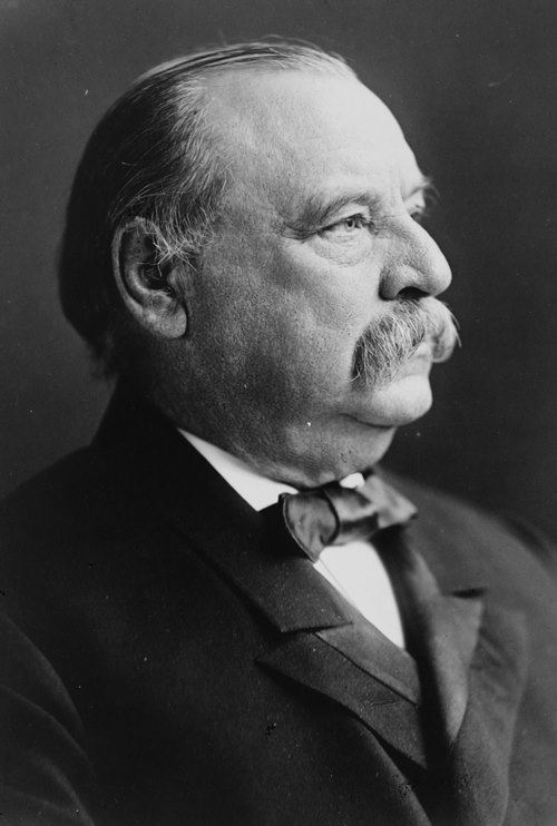 Grover Cleveland - 22nd and 24th president of America