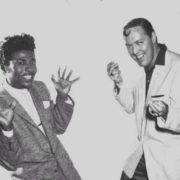 Little Richard and Bill Haley