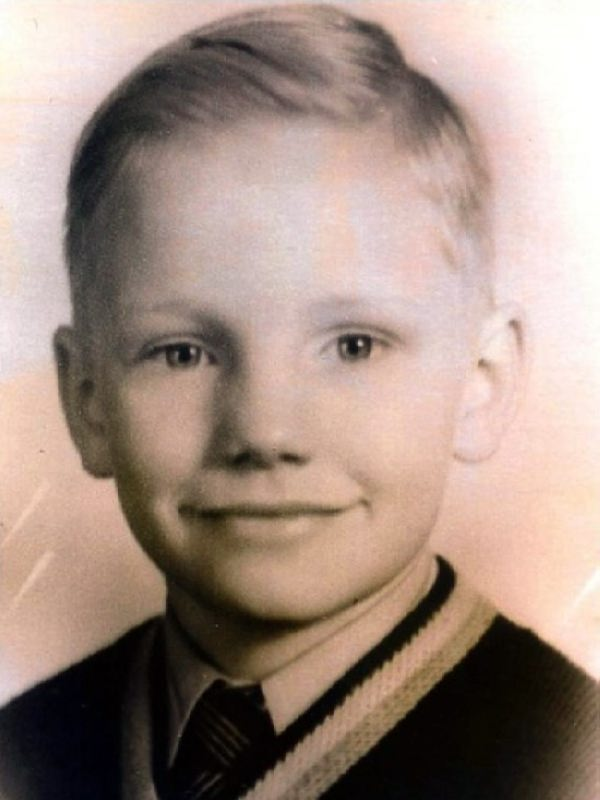 Neil Armstrong in his childhood