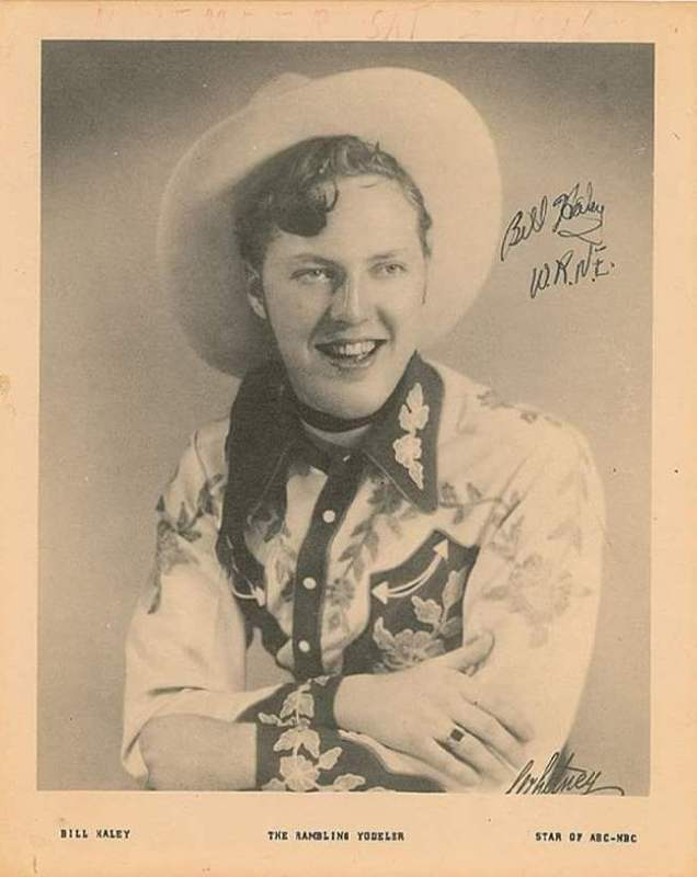 Young Bill Haley