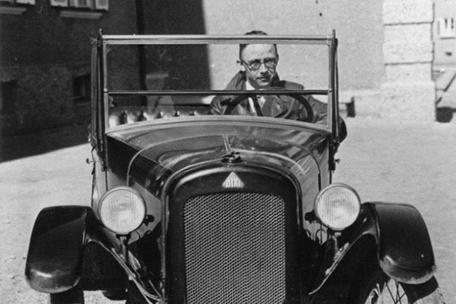 Heinrich Himmler - head of the Gestapo
