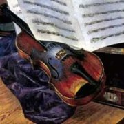 Kuzma Petrov-Vodkin. Violin, 1916