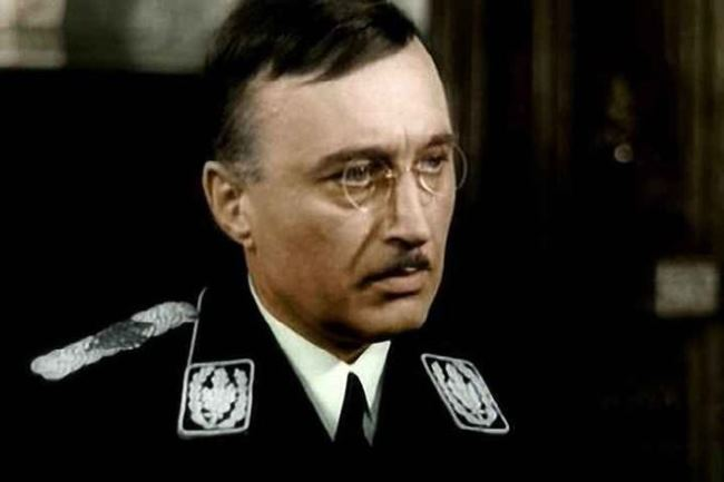 Heinrich Himmler - head of the Gestapo
