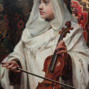 Pedro Americo. Arab fiddler