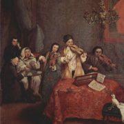 Pietro Longhi. Little concert, 1741