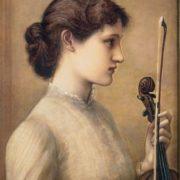 Sara Norton. 1884. Edward Burne-Jones