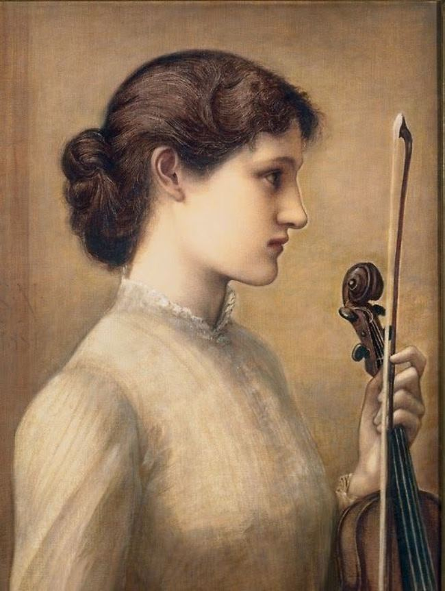 Sara Norton. 1884. Edward Burne-Jones