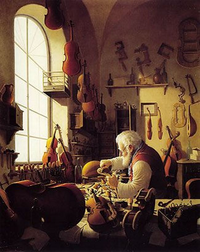 Vida Gabor. The Violin Maker