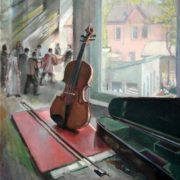 Zhibinov Alexey Petrovich. The Silent Violin, 1955