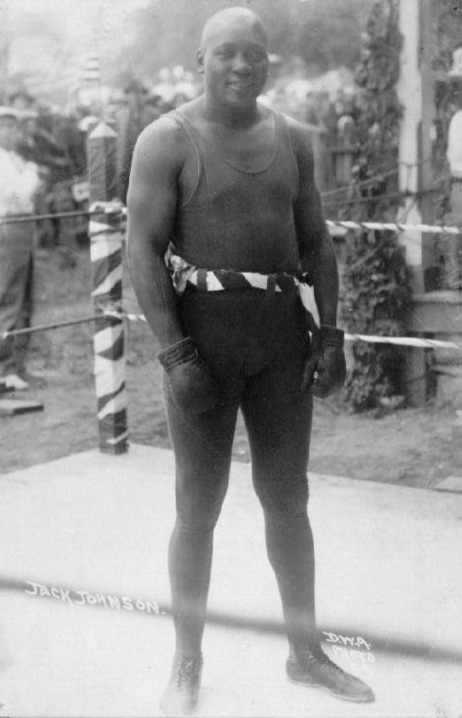 Jack Johnson – great boxer