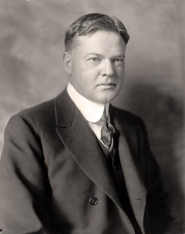 Herbert Clark Hoover - thirty-first president of America