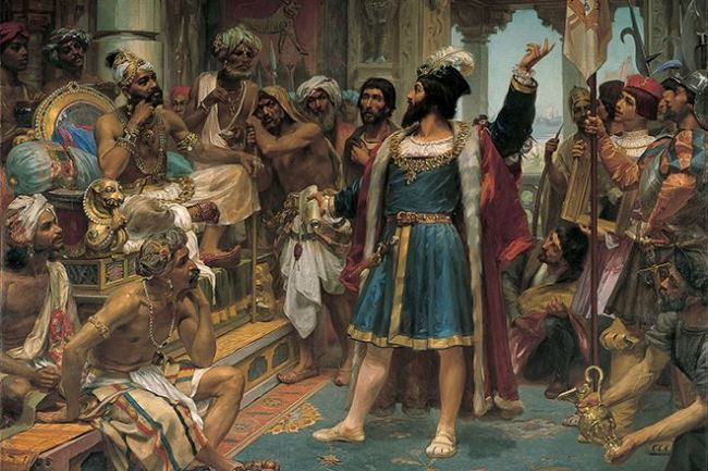 Vasco da Gama - Portuguese explorer