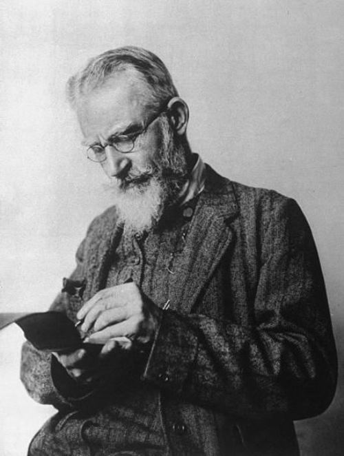 Bernard Shaw - British playwright