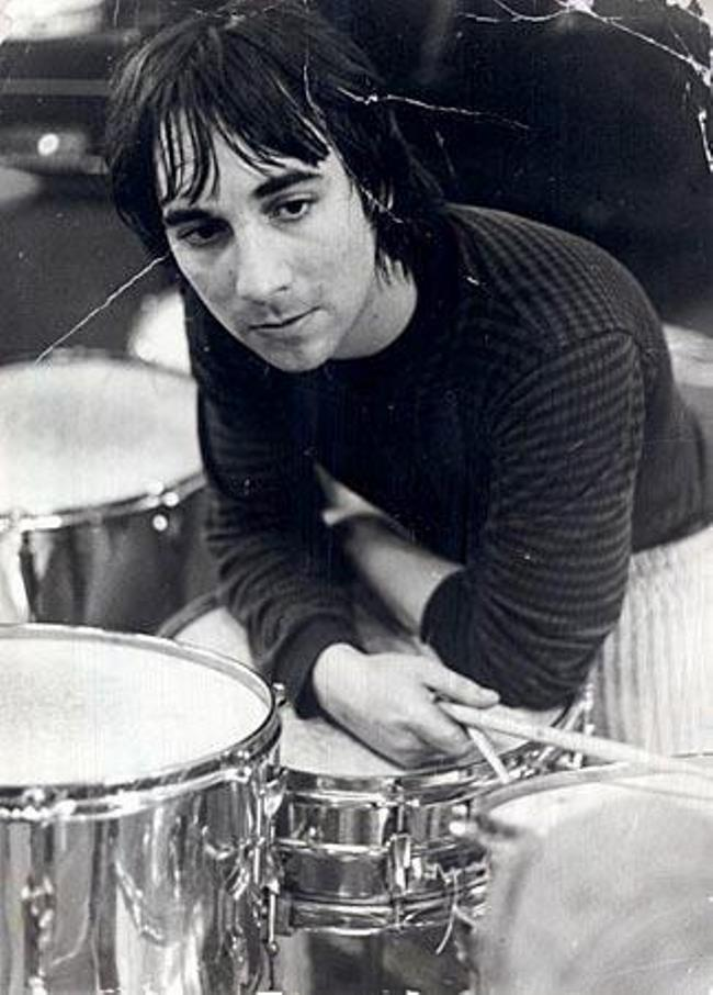 Keith Moon – British drummer