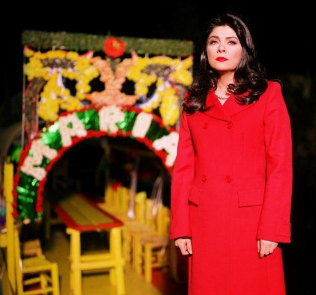 Bright actress Ruffo Victoria