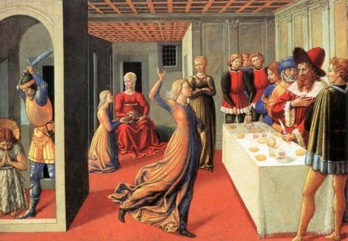 Benozzo Gozzoli. Dance of Salome at the Feast of King Herod. 1461-1462