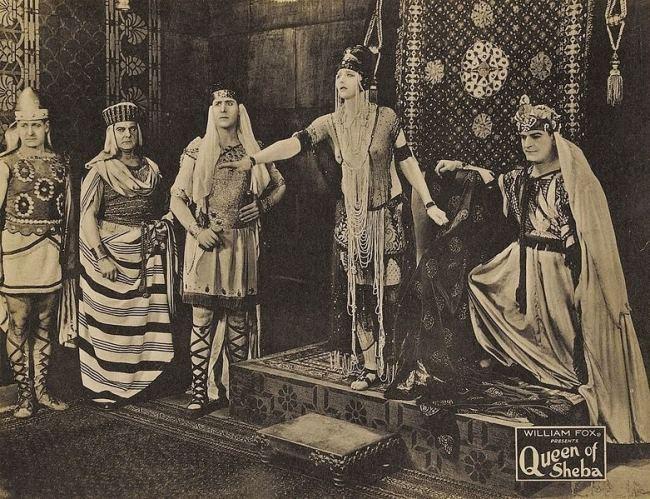Betty Blythe. The Queen of Sheba