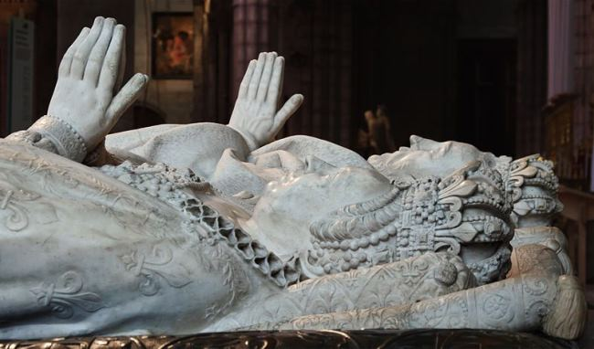 Catherine de Medici and Henri II