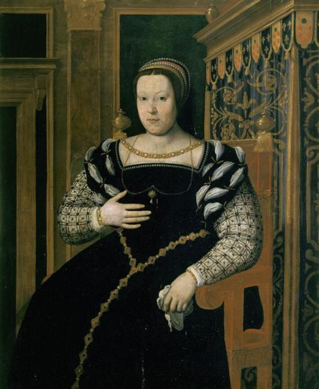 Daughter of a powerful Italian prince from the Medici family