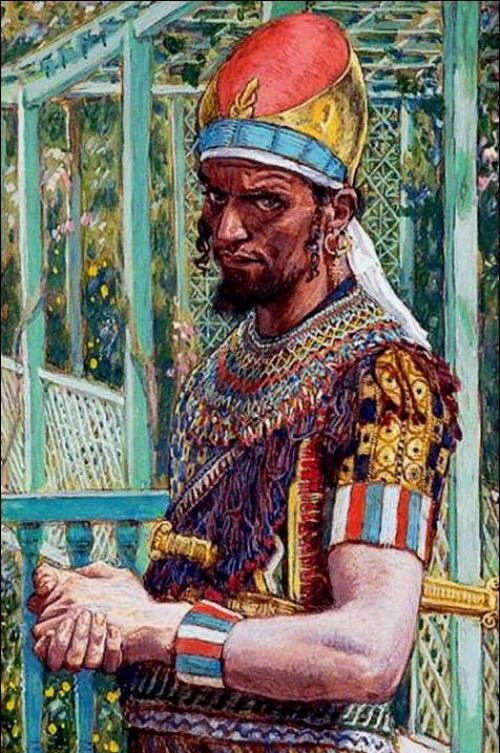 James Tissot. Herod the Great. 1886