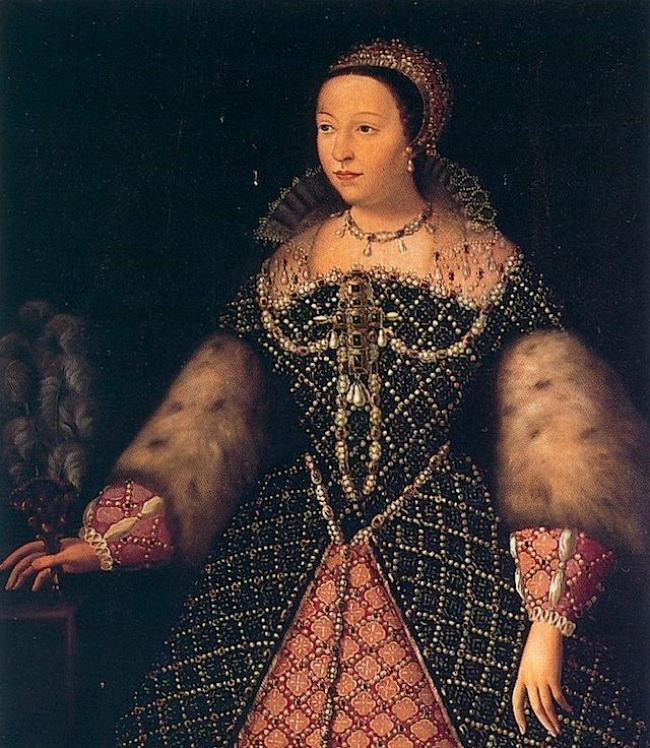 Later regent for her three feeble sons at the twilight of the Valois dynasty