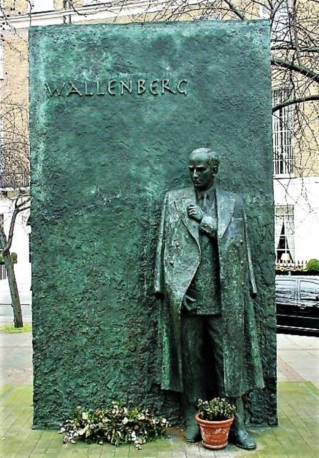 Monument to Raoul Wallenberg in London