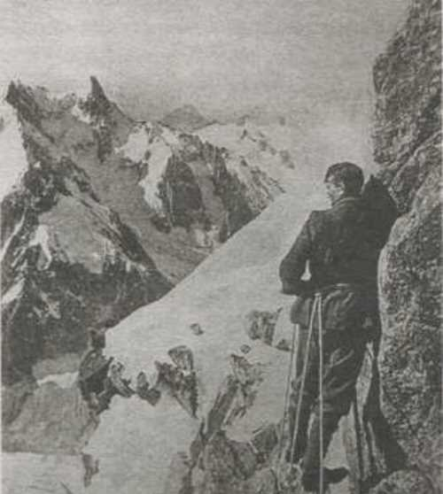 Renowned English mountaineer George Mallory