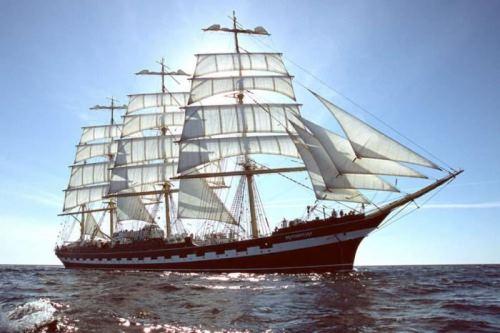 Ship named after Kruzenshtern