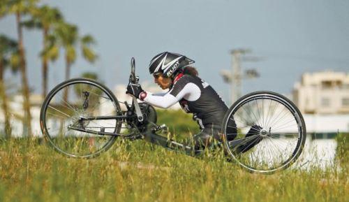 Successful athlete - Bercovitch Pascale