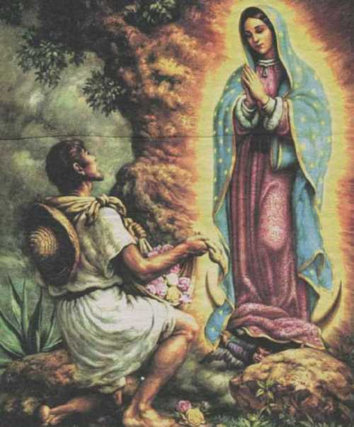 The Apparition of the Virgin Mary to Juan Diego