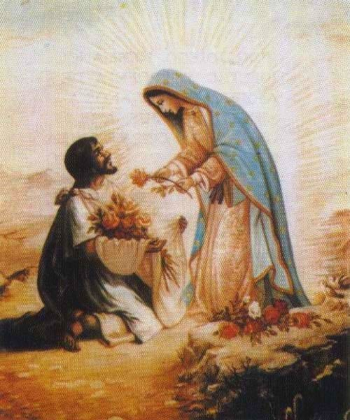 Virgin Mary and Juan Diego