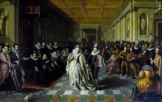 Wedding ball of the Duc de Joyeuse, 1581