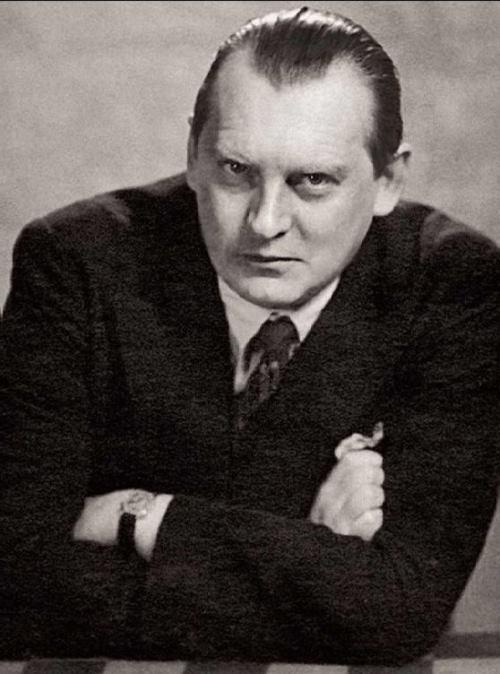 Alexander Aleknine - Artist of Chessboard