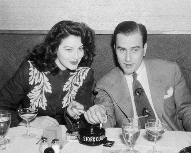 Artie Shaw and Ava Gardner