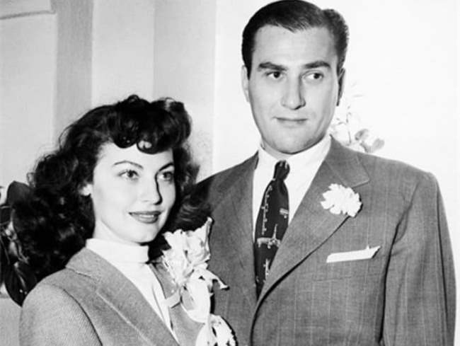 Ava Gardner and Artie Shaw Photo pailish.livejournal.com