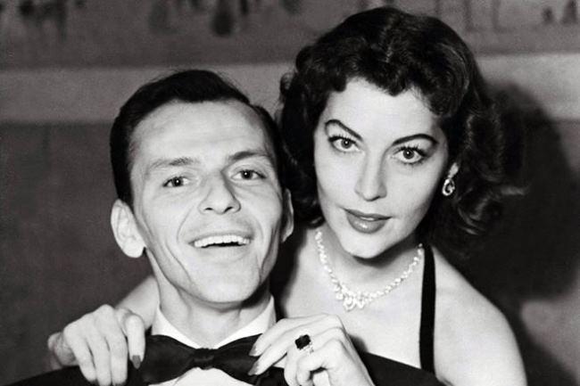 Famous Frank Sinatra and Ava