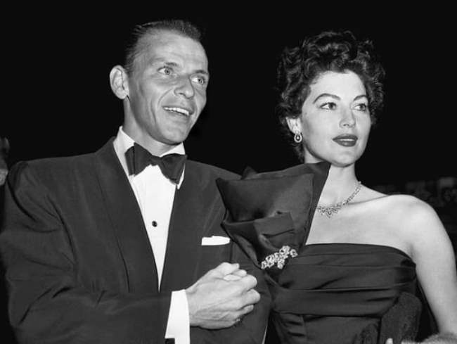 Frank Sinatra and Ava Gardner. Photo gazeta.ua