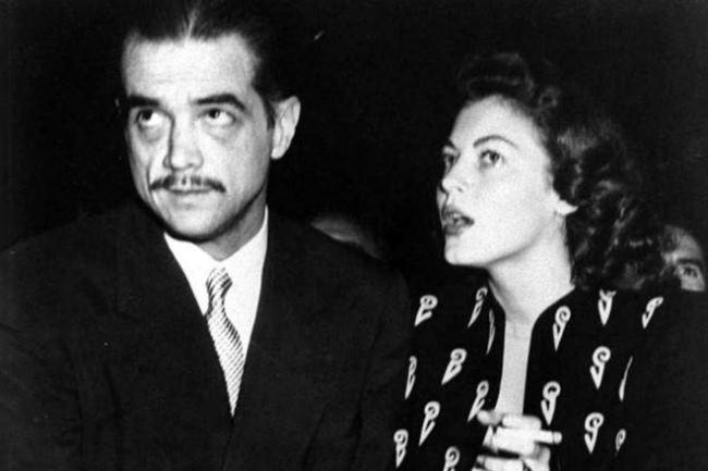 Howard Hughes and Ava Gardner
