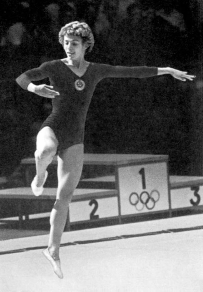 Latynina is ideal Soviet athlete