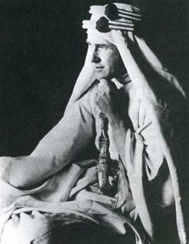 Lawrence of Arabia. 1917