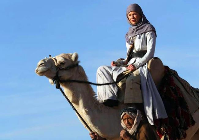 Nicole Kidman as Gertrude Bell in the Queen of the Desert movie