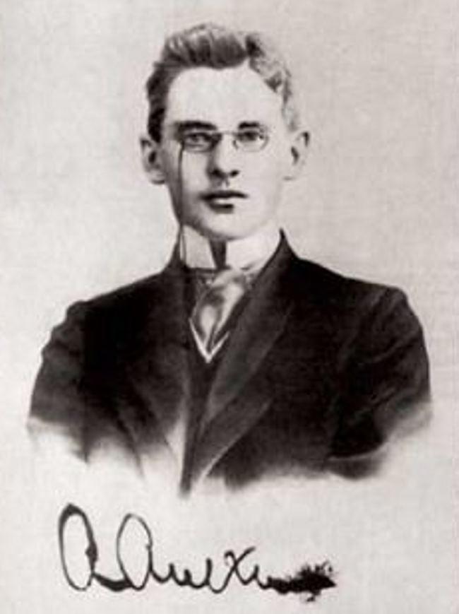 Seventeen-year-old maestro Alekhine